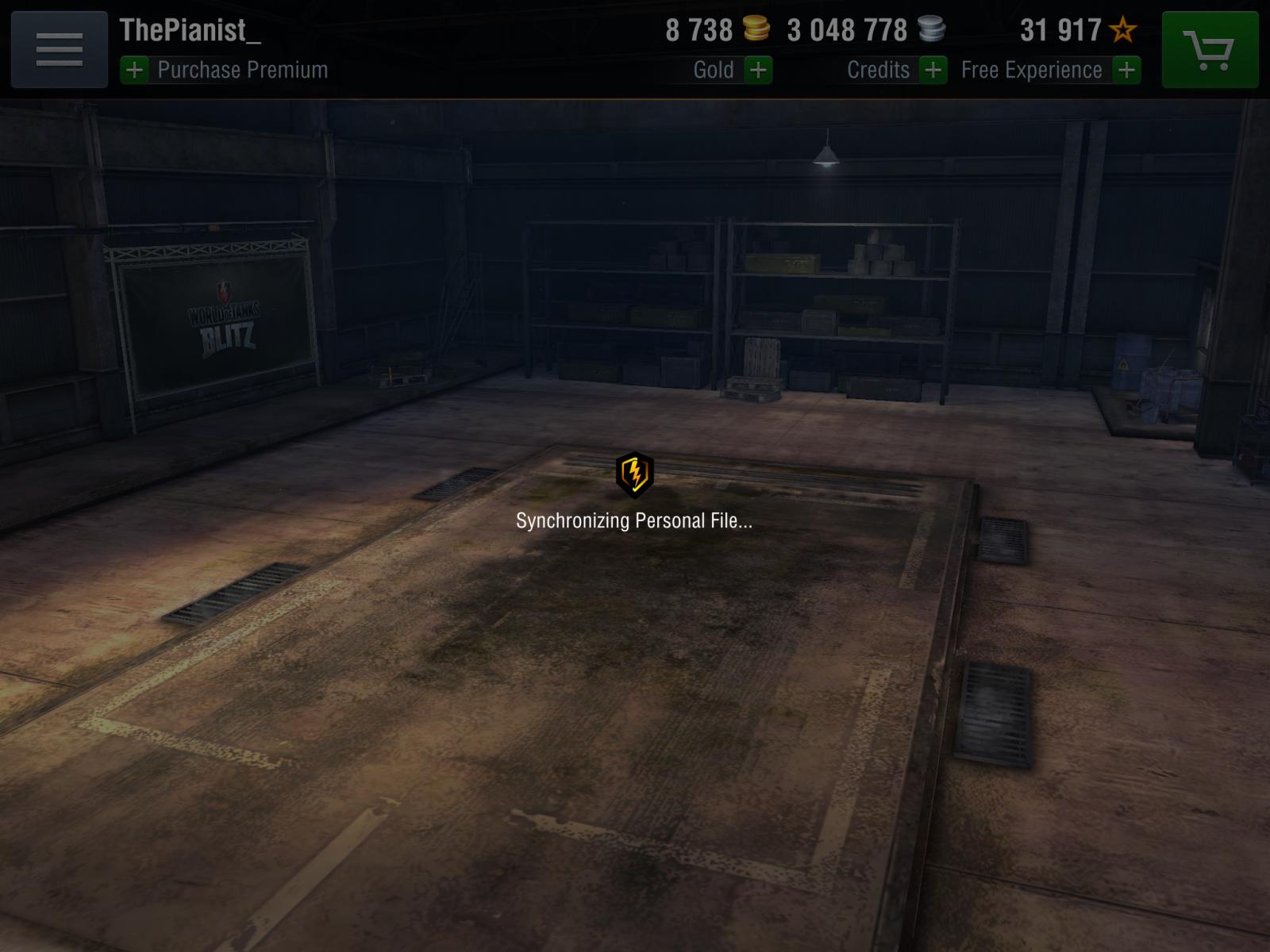 Synchronizing Personal File    - Gameplay - World of Tanks Blitz